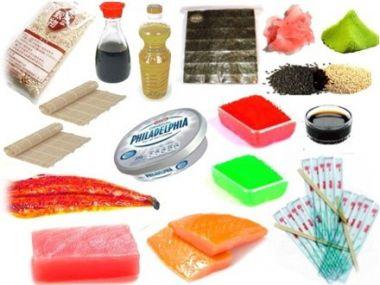 Набор продуктов для суши №1