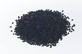 Кунжутне насіння чорне смажене 50 г