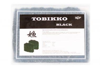 Икра летучей рыбы Тобикко чёрная 100 г