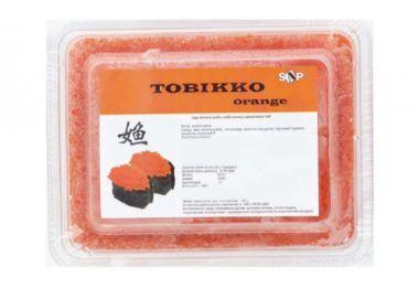 Икра летучей рыбы Тобикко оранжевая 40 г