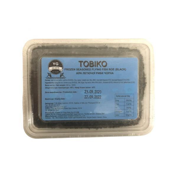 Икра летучей рыбы Тобикко чёрная 500 г