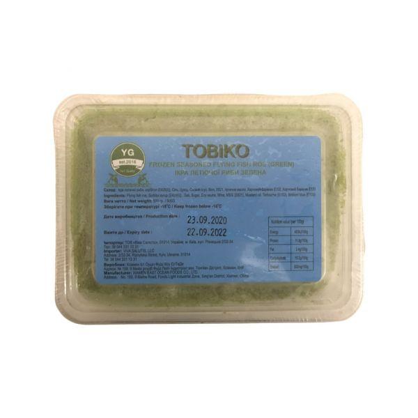 Икра летучей рыбы Тобикко зеленая 500 г